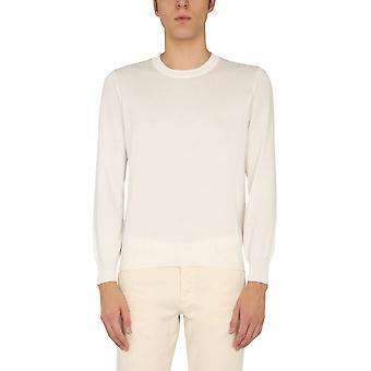 Brunello Cucinelli M2900100co312 Hombres's Suéter de algodón beige