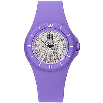 Light time watch silicon strass l122li