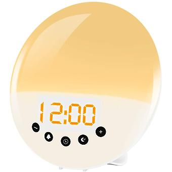 Wake Up Light 2019,Cadrim Alarm Clock Sunrise/Sunset Simulation Alarms