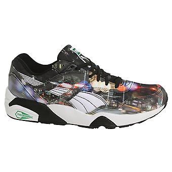 Puma R698 New York City Photoreal Lace Up Mens Trainers 359932 01 B10A