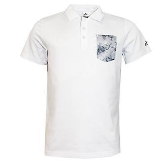 Adidas Essential Ccs Poloshirt met korte mouwen Wit Heren S16009 EE57