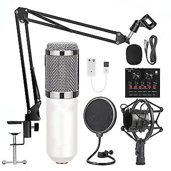 Bm800 Condenser Microphone Professional Voice Recording For Phone Pc Kits