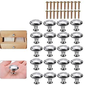 20pcs de set de perilla en forma de hongo- gabinete de muebles reemplazable, cajón