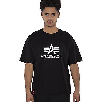 Alpha Industries Men's T-Shirt Basic OS Heavy T