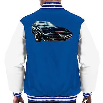 Knight Rider KITT The Supercar Men's Varsity Jacket