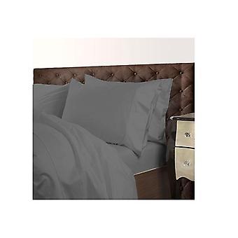 Royal Comfort 1000 Tc Cotton Blend Quilt Cover Set Premium Charcoal