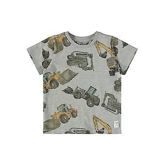 Name-it Boys Tshirt Donniso Grey Melange