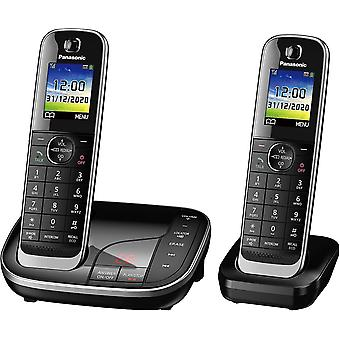KX-TGJ322EB Twin Handset Cordless Home Phone with Nuisance Call Blocker