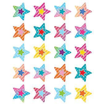 Pegatinas de vibraciones coloridas