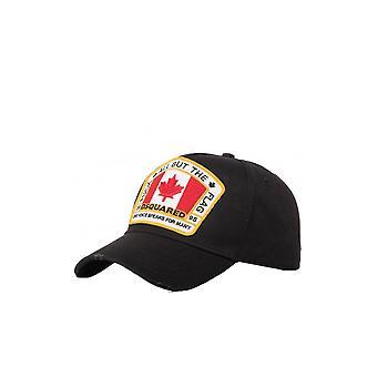 Dsquared2 كندا التصحيح شعار كاب