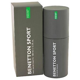 Benetton Sport Eau De Toilette Spray door Benetton 3.3 oz Eau De Toilette Spray