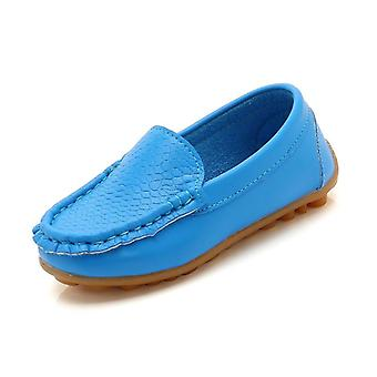 New Fashion Flats Casual Comfortable Pu Leather Slip On Shoes