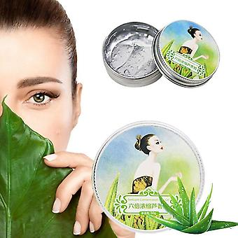 Natural Aloe Vera Gel Smoothing Moisture Repair Cream Sunblock Face Acne