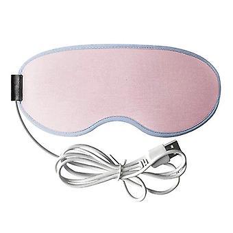 Hete oog masker usb verwarmde oogmasker warmer 3d stoom oogmasker hete kompres verlichten oogvermoeidheid slimme timing ooglap slaap sn-hot