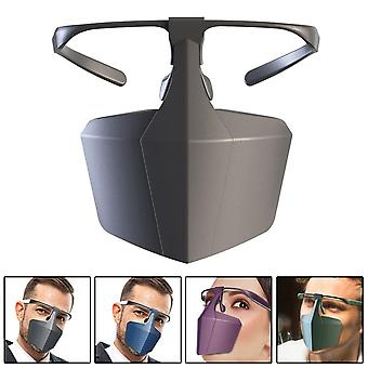 Анти-туман Splashproof Обложка Слюна многоразовые очки Туман маска