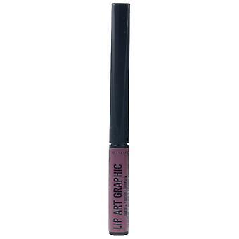Rimmel London Lip Art Chart Profiler and Liquid Lipstick #220-Vandal