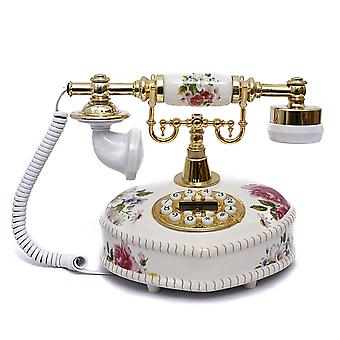 Antique Style Rotary Phone Princess French Style Old Fashioned Handset Telephone Tc-520