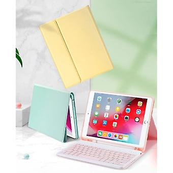 """ABEIFAN Keyboard Cover for iPad Air 3 (10.5 """") with Wireless Mouse - QWERTY Multifunction Keyboard Bluetooth Smart Cover Case Sleeve Blue"""
