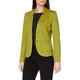 Tom Tailor Basic Jersey Blazer, Green (19651-Wood Green), M Donna