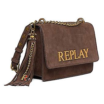 REPLAY, FW3000.009.A3154 Woman, 124 chocolate brown, UNIC