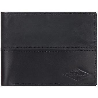 Quiksilver Desertruker läder plånbok i svart