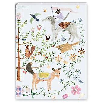 Notebook  Lets's Go to Wonderland Greenjournal