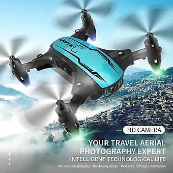 Mini Drone 4K HD Camera WiFi Fpv Luchtdruk hoogte Hold Opvouwbare Quadcopter| RC Quadcopter
