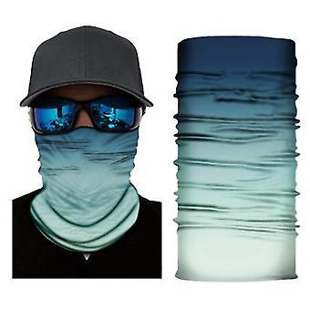 3d naadloze gezichtsmasker sjaal zon Uv nek warmer schild