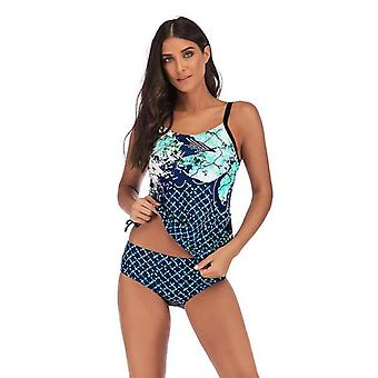 ملابس السباحة فتاة بالإضافة إلى حجم المرأة رقيقة بتحفظ ضئيلة تناسب ملابس السباحة النسائية