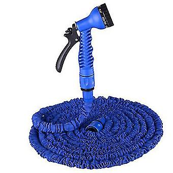 175Ft blue garden 3 times retractable hose, with high pressure car wash water gun az8513