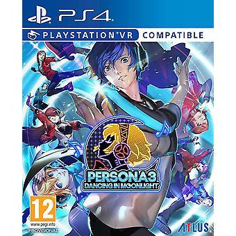 אישיות 3 רוקדים במשחק PS4 אור ירח