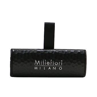 Millefiori Icon Metal Shades Car Air Freshener - Nero 1pc