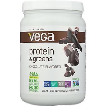 Vega Protein & Greens, Chocolate 16 Each