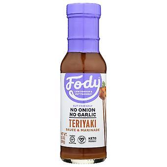 Fody Food Co Sauce Marinade Teriyaki, Case of 6 X 8 Oz