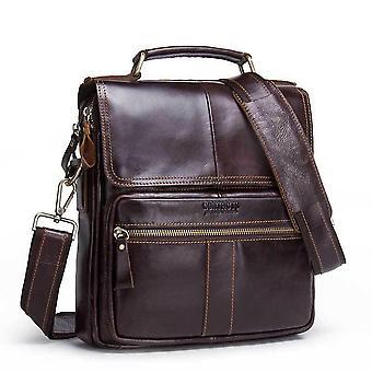 حقائب الكتف للرجال حقيبة كروسبودي جلدية