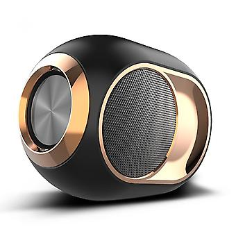 Wireless Bluetooth Speaker With Fm Radio For Outdoor Home, Rock Bass Sound