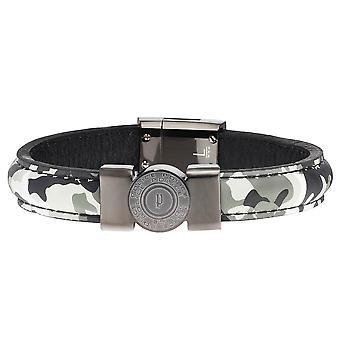 Police jewels shooter men's bracelet khaki large pj.25556blu_01-l