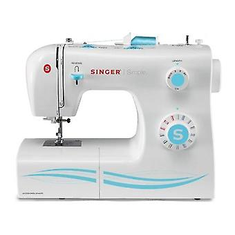 Singer SMC 2263/00 Sewing Machine Singer 2263 White, Number of Stitches 23 Built-in Seams, Number of ButtonHoles 1, Automatic Threading