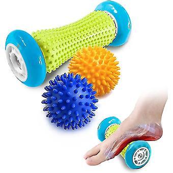 Massagers foot massage roller spiky ball foot pain relief massager