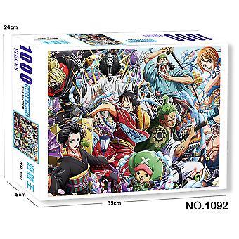 O bucată Puzzle 1000 Carduri