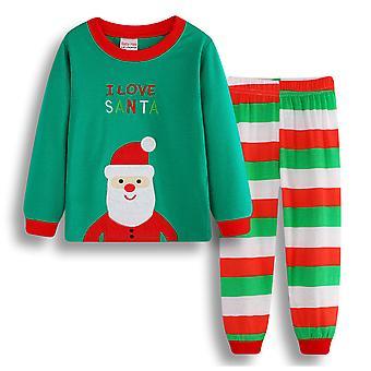 Kinder Jungen Mädchen Weihnachten Pyjamas Set Nachtwäsche Nachtwäsche Weihnachten Outfit