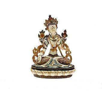 """10,25"""" Buda tailandês estatueta dom ideia estátua religião mão pintado"""