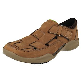 Mens Clarks Wave lopen gesloten teen sandalen Wave Breeze