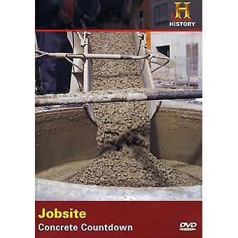 Importación de Estados Unidos hormigón obra cuenta regresiva [DVD]