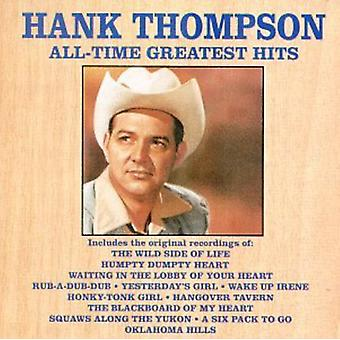 Hank Thompson - Hank Thompson: Vol. 1-All-Time Greatest Hits [CD] USA import