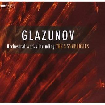 A. Glazunov - Glazunov: Orchestral Works Including the 8 Symphonies [Box Set] [CD] USA import