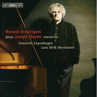 J. Haydn - importación de Estados Unidos Ronald Brautigam interpreta Joseph Haydn [CD]