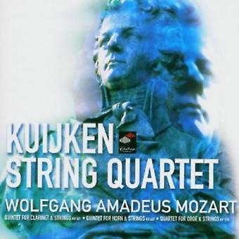W.a. Mozart - Mozart: Quintets Kv 581 & 407; Quartet Kv 370 [CD] USA import