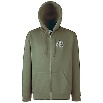 Die königlichen grünen Jacken Stickerei Logo - offiziellen britischen Armee Zip Hoodie Jacke