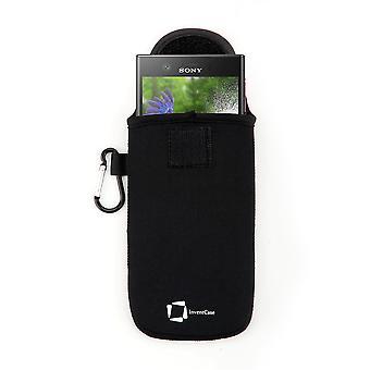 Funda de bolsa protectora de neopreno InventCase para Sony Xperia XZ1 Compact - Negro